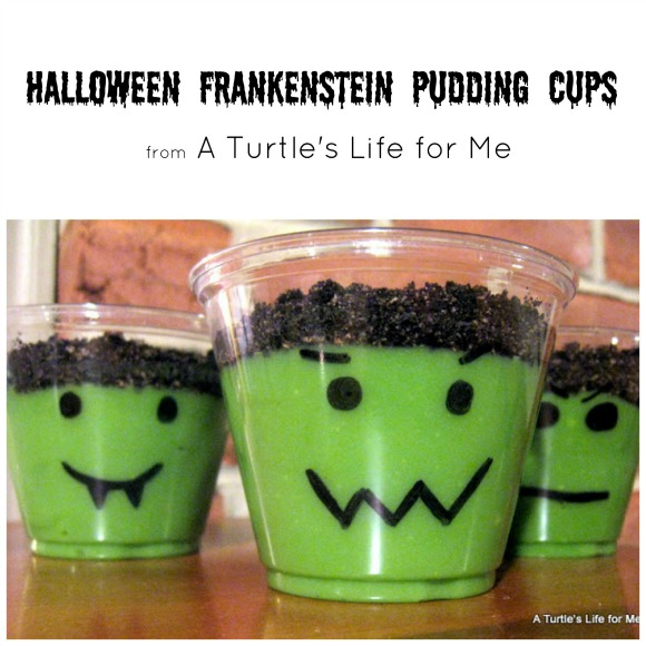 frankenstein pudding