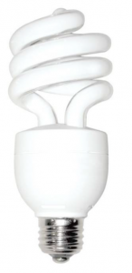 A halogen lightbulb for a more efficient home.