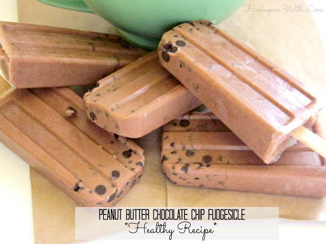peanut butter chocolate chip fudgesicle