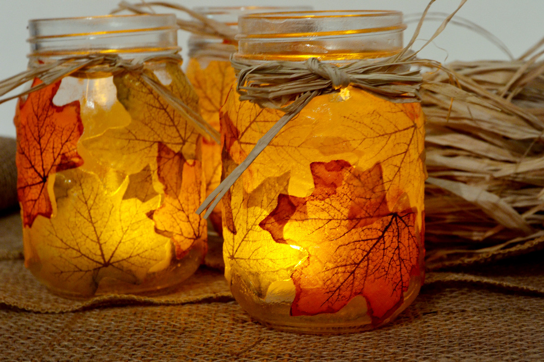 Holiday Gift Ideas Paper Mache Mason Jar Candles
