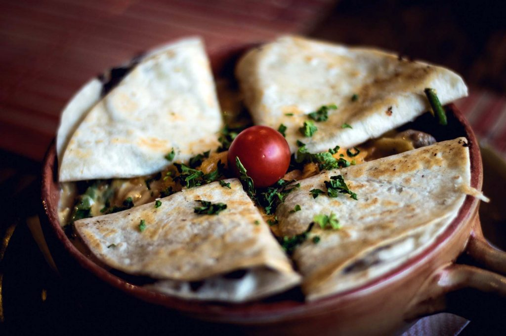 Healthy Quesadilla