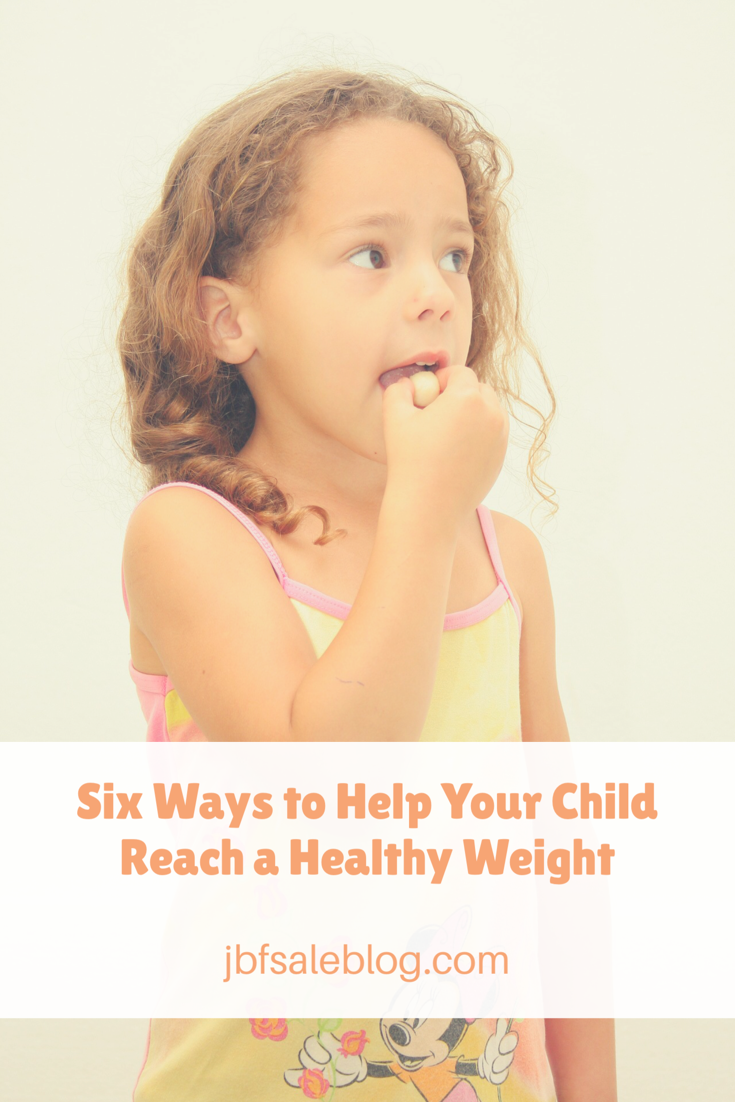 Six Ways to Help Your Child Reach a Healthy Weight | diet | healthy weight for children | children's diet | children eating