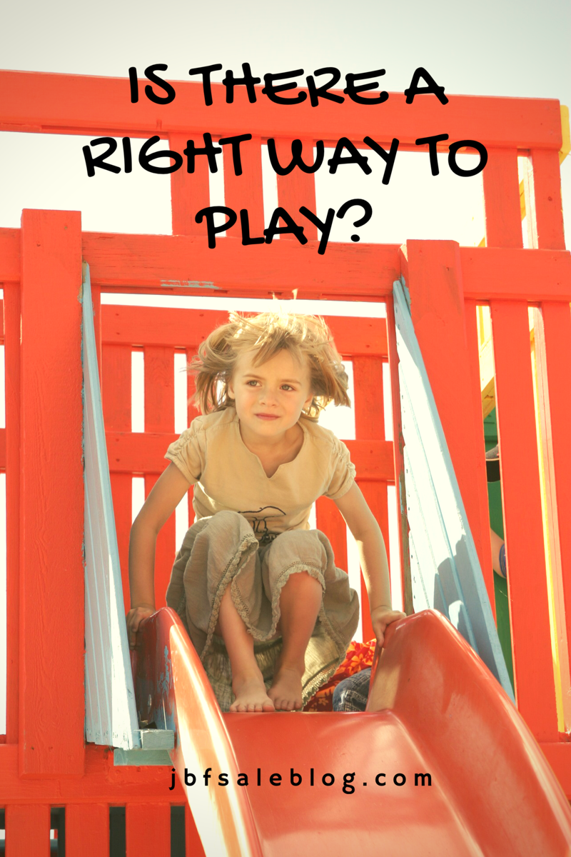 Tips for Children's Playtime: Is There a Right Way to Play? | child's play | children playing | outside play