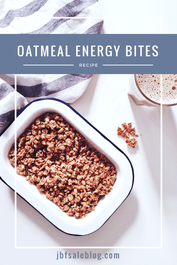 Road Trip Snacks: Oatmeal Energy Bites