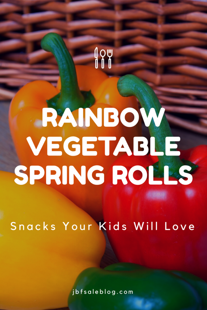 Rainbow Vegetable Spring Rolls: Snacks Your Kids Will Love