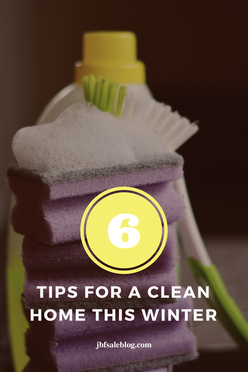 6 Tips For a Clean Home This Winter