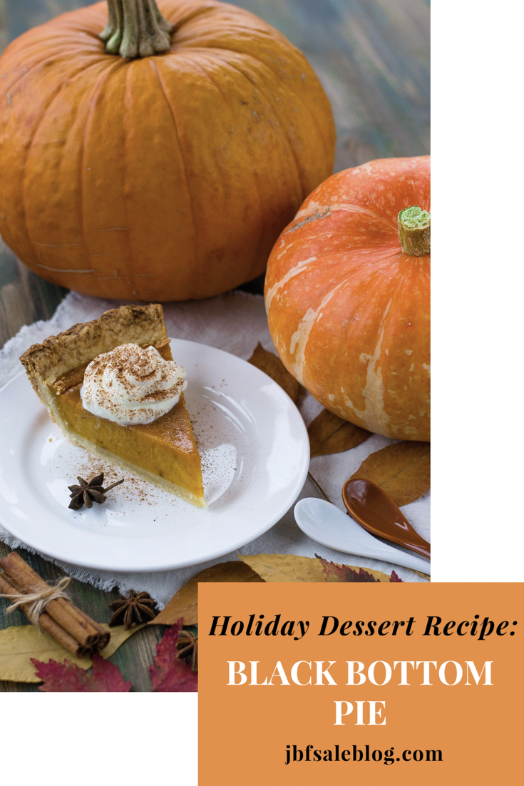 Holiday Dessert Recipe: Black Bottom Pumpkin Pie