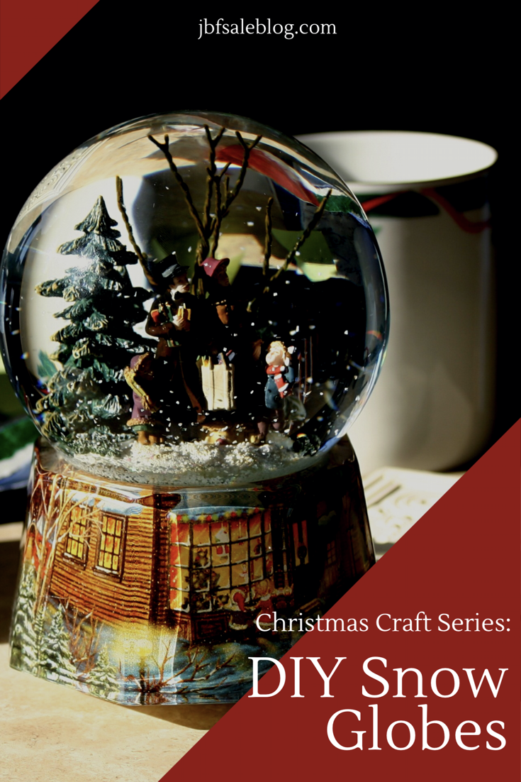 Christmas Craft Series: DIY Snow Globes