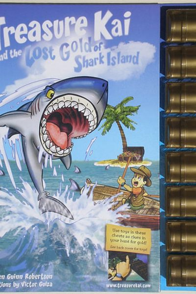 Treasure Kai and the Lost Gold of Shark Island/Book Giveaway