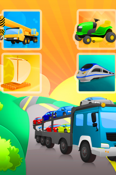 Trucks and Shadows iPad, iPhone and iPod App Giveaway