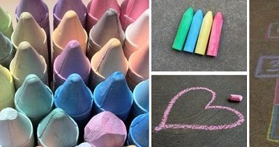 Take It to the Streets: DIY Sidewalk Chalk