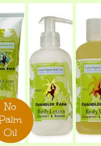 Chandler Farm Organic Body Care Products ~ Giveaway