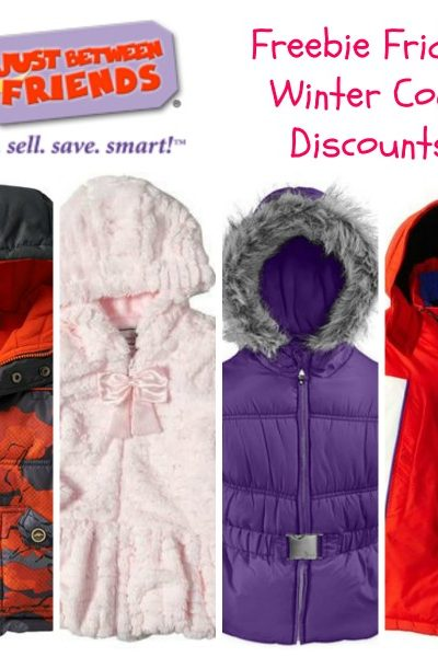 Freebie Friday: Winter Coat Discounts