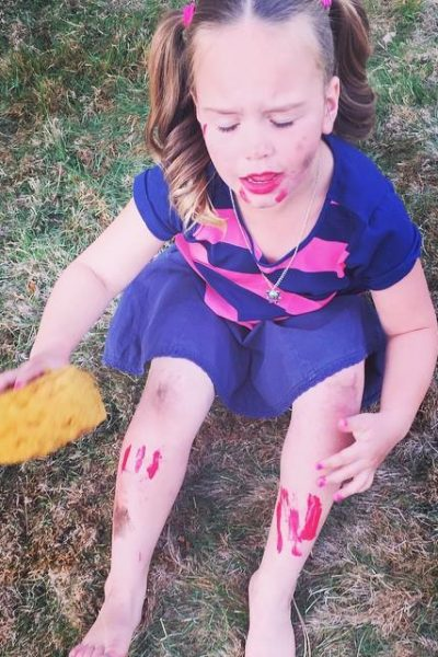Creative Play and a Little Lipstick