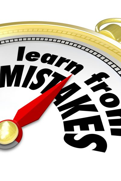 Learn from your mistakes – Small Business Leaders Reveal Their Biggest Mistakes