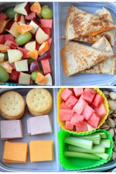 4 Packed Lunch Ideas for Kids
