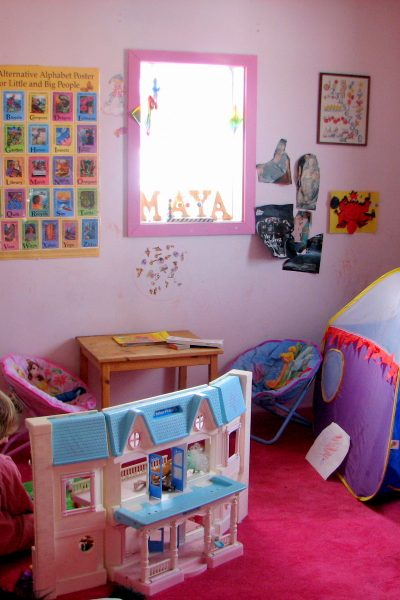 Organizing the Playroom