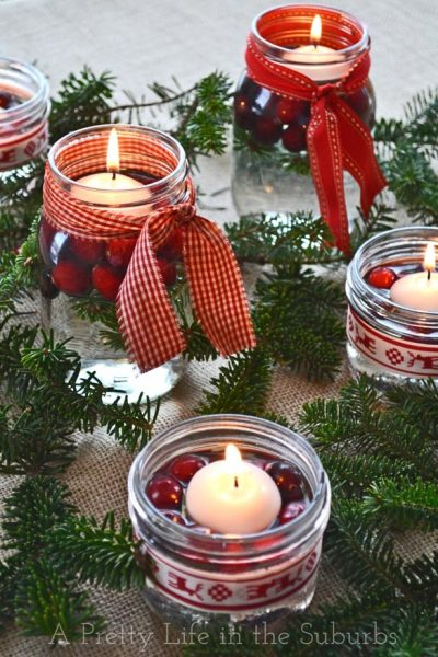 Mason Jar Holiday Crafts