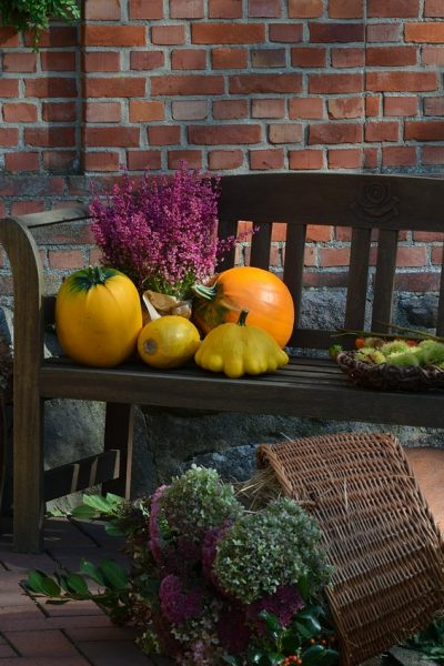 Transitioning Pumpkin Décor from Halloween to Thanksgiving
