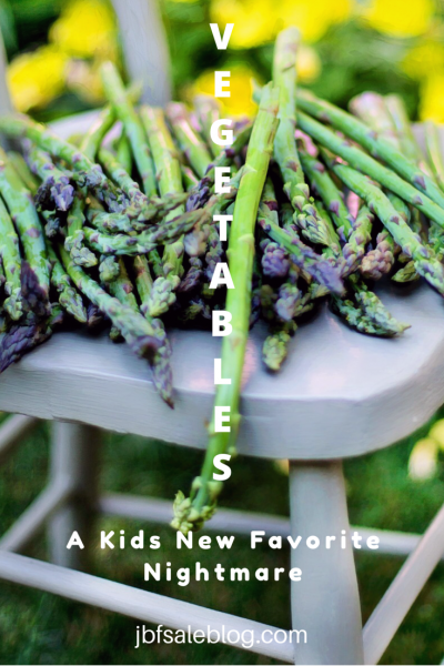 Eating Vegetables: A Kids' New Favorite Nightmare