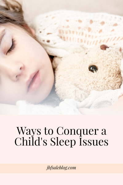 Ways to Conquer a Child's Sleep Issues