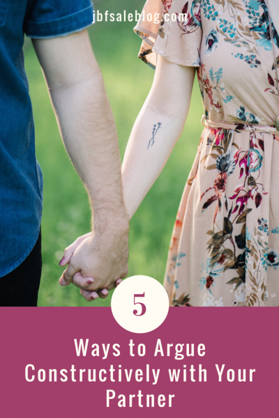 5 Ways to Argue Constructively With Your Partner