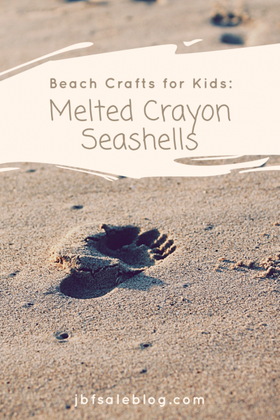 Beach Crafts for Kids: Melted Crayon Seashells