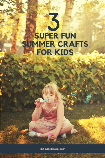 3 Super Fun Summer Crafts for Kids