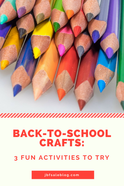 Back to School Crafts: 3 Fun Activities to Try