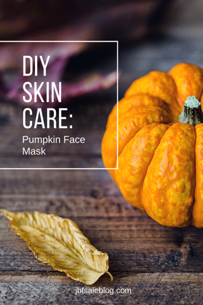 DIY Skin Care: Pumpkin Face Mask