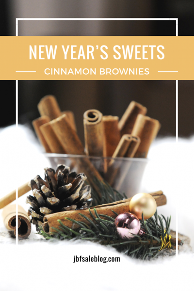 New Year's Sweets: Cinnamon Brownies