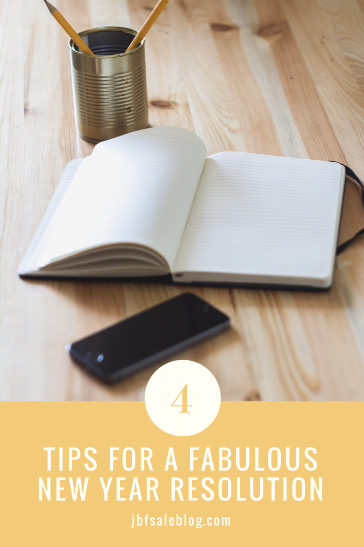 4 Tips for a Fabulous New Year Resolution