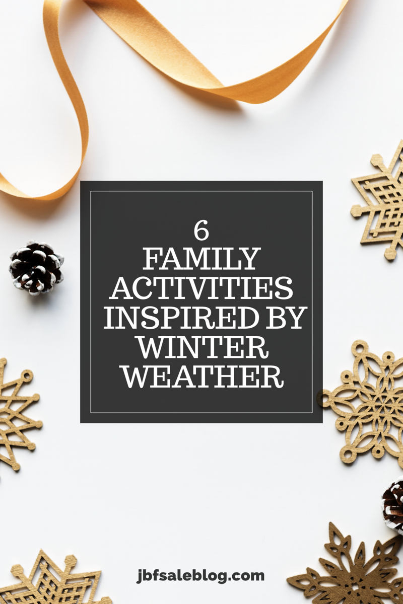 3 Family Activities Inspired by Winter Weather