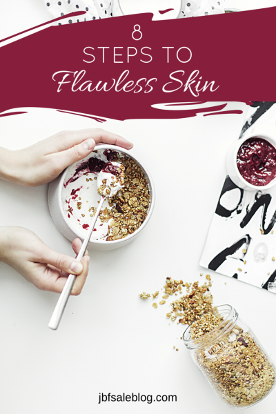 8 Steps to Flawless Skin