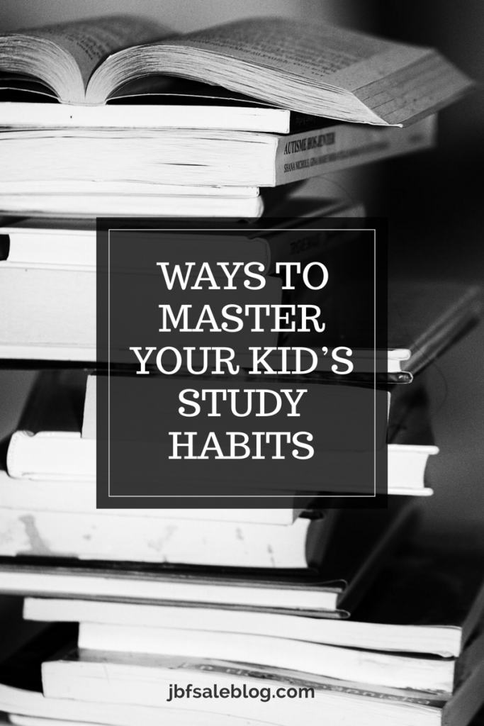 3 Ways to Master Your Kid's Study Habits