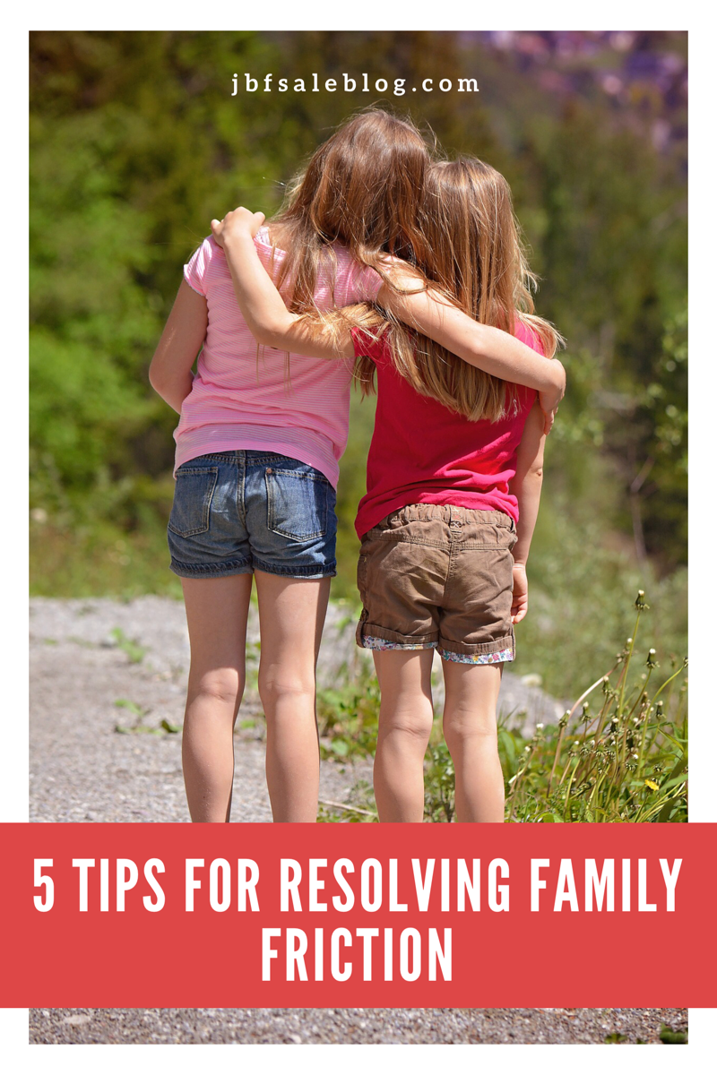 5 Tips for Resolving Family Friction