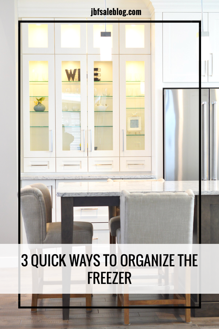 3 Quick Ways to Organize The Freezer