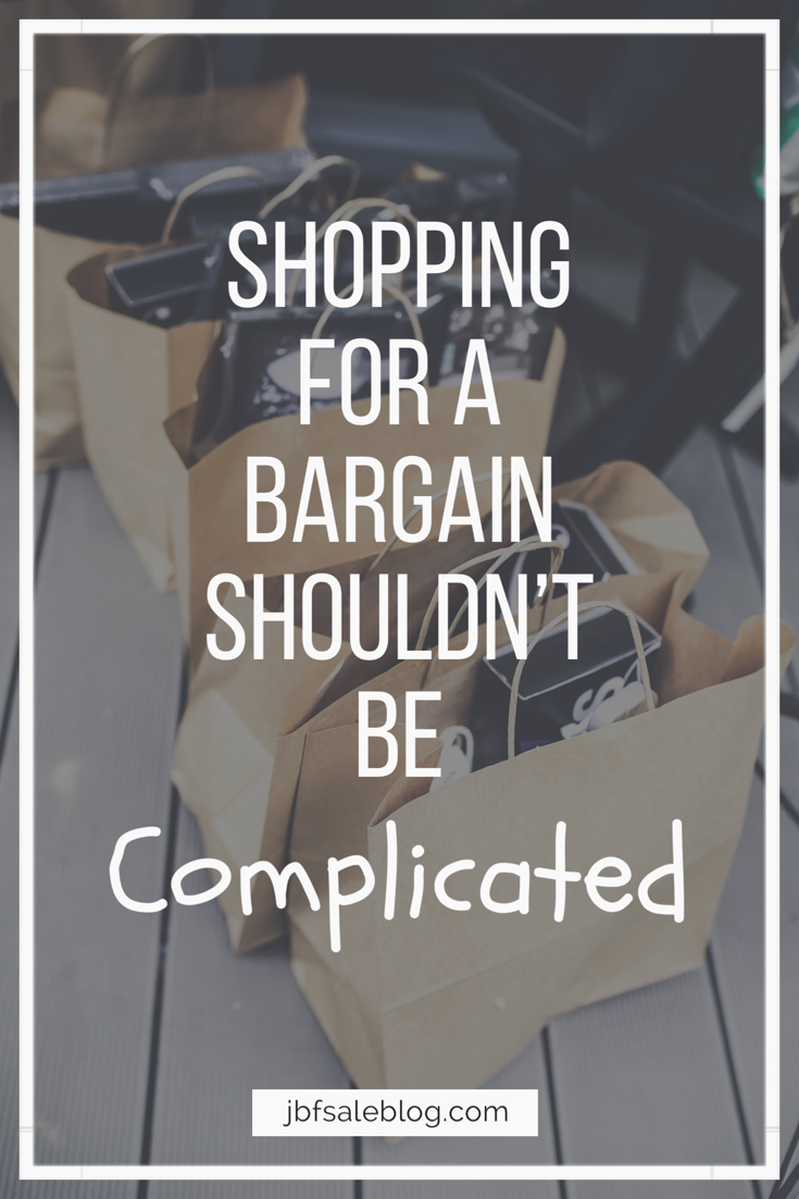 Shopping For a Bargain Shouldn't Be Complicated