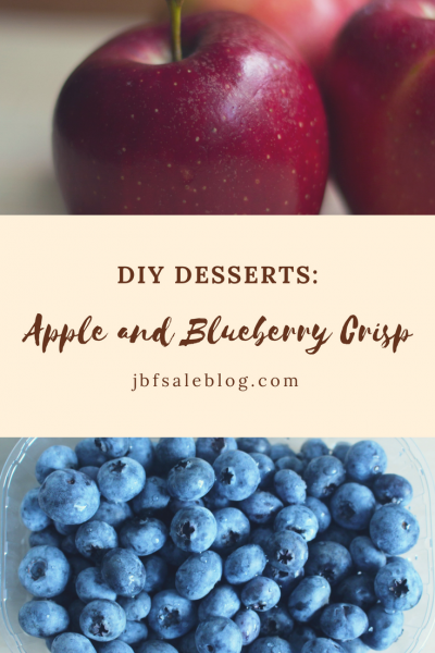 DIY Dessert: Apple and Blueberry Crisp