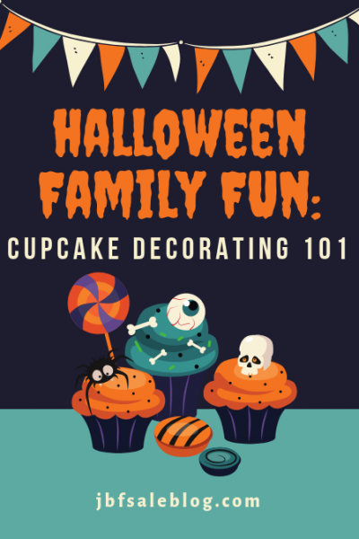Halloween Family Fun: Cupcake Decorating 101