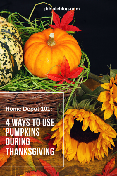 Home Decor 101: 4 Ways to Use Pumpkins During Thanksgiving