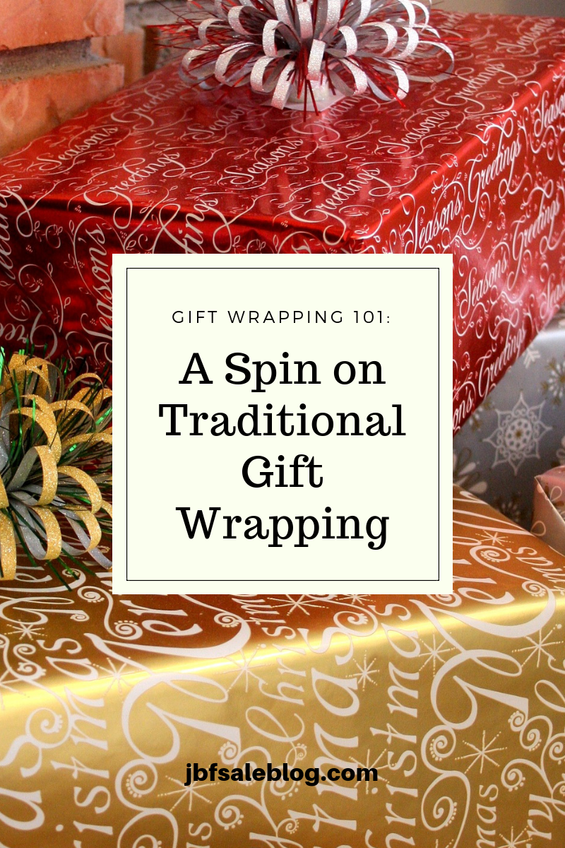Gift Wrapping 101: A Spin on Traditional Gift Wrapping