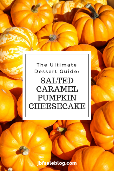 Ultimate Dessert Guide: Salted Caramel Pumpkin Cheesecake