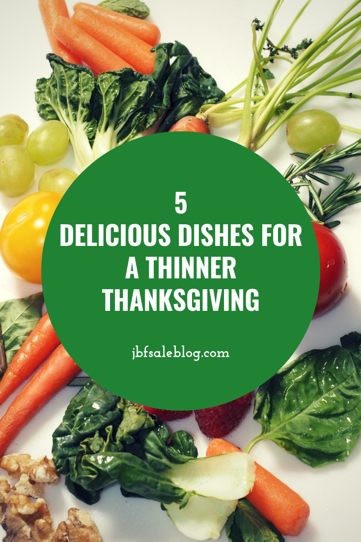 5 Delicious Dishes For a Thinner Thanksgiving