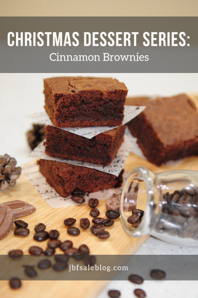 Christmas Dessert Series: Cinnamon Brownies
