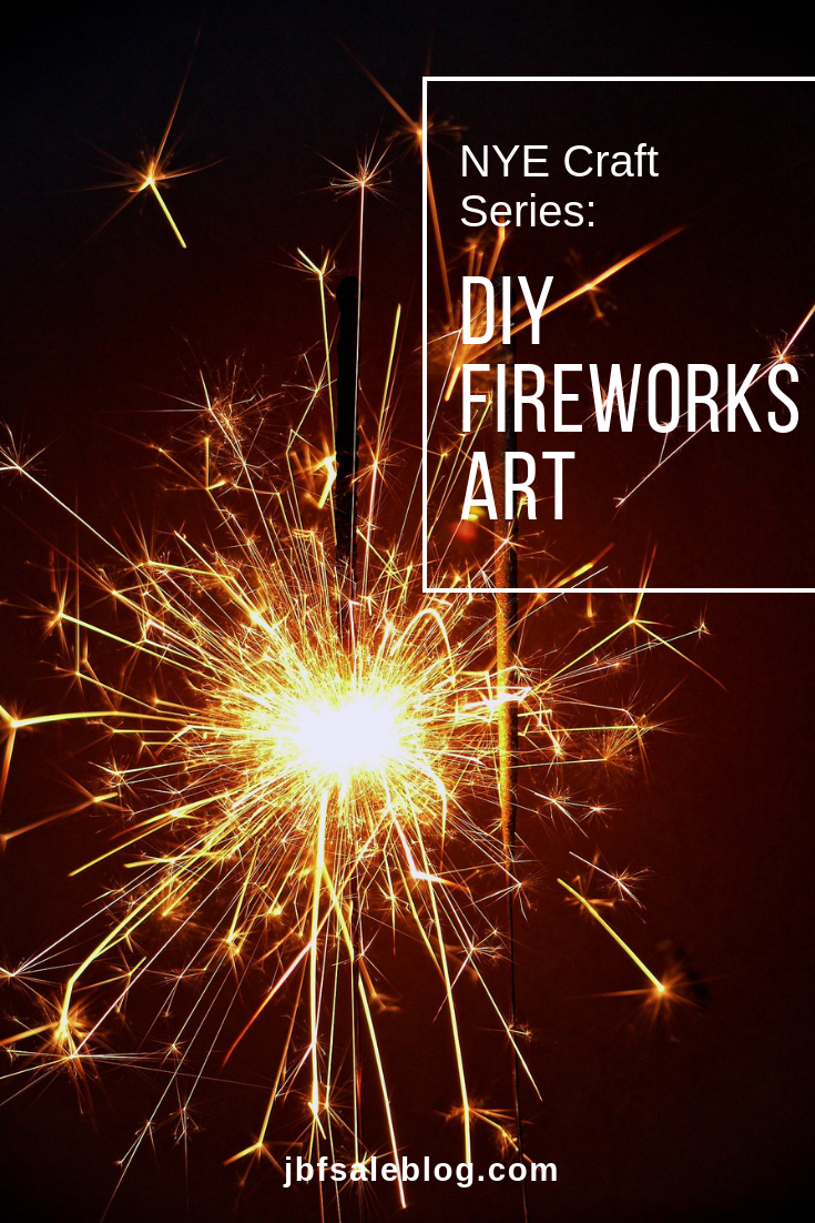 DIY Fireworks Art