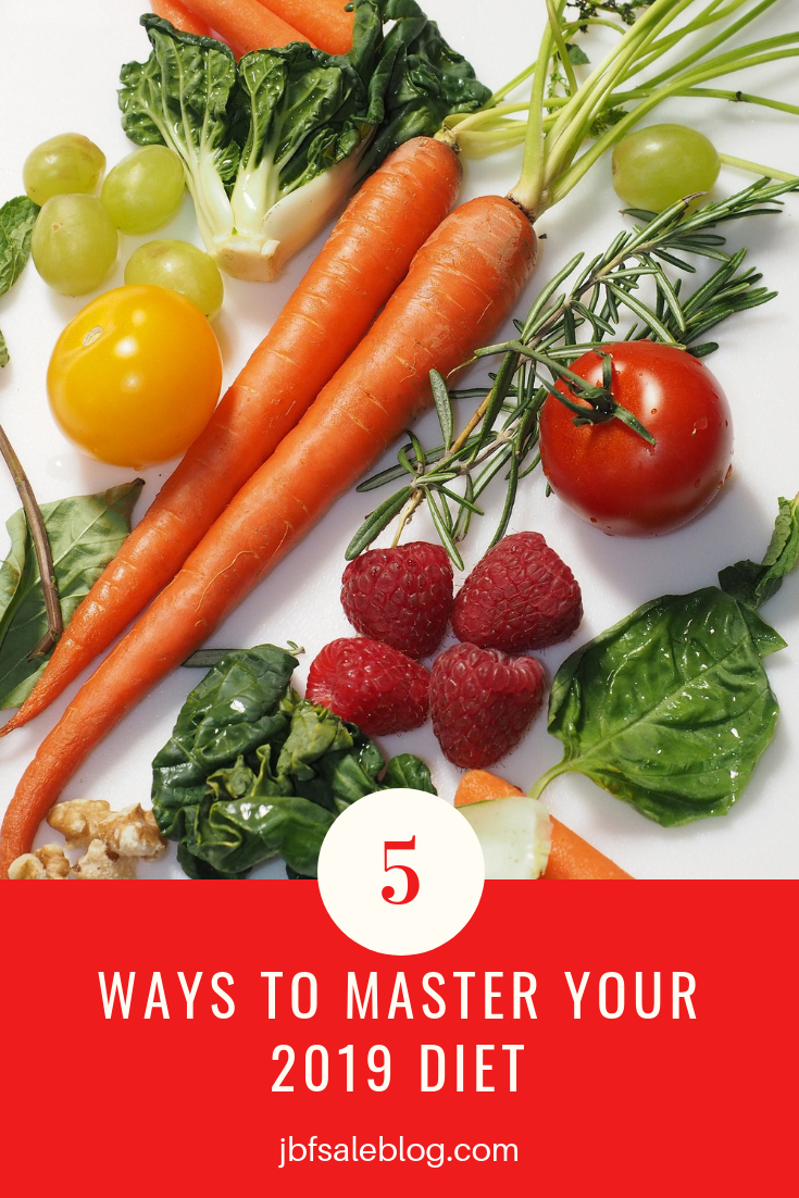 5 Ways to Master Your 2019 Diet