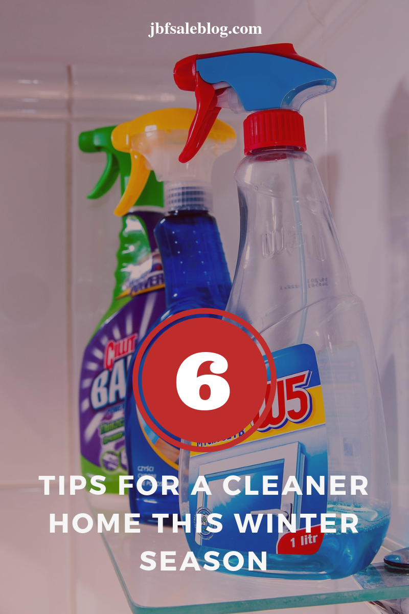 6 Tips For a Cleaner Home This Winter Season ⋆ JBF Sale Blog