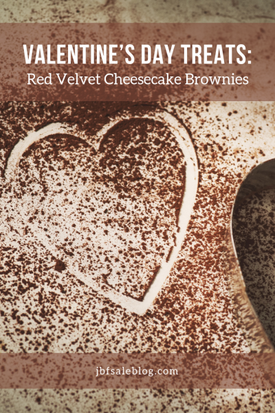 Valentine's Day Treats: Red Velvet Cheesecake Brownies