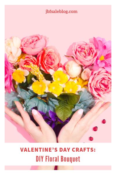 Valentine's Day Crafts: DIY Floral Bouquet